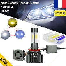 100W 12000LM H8 H9 H11 LED Ampoule Voiture Feux Phare Lampe Changer les couleurs