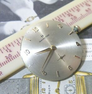1959 Hamilton Gents CHADWICK 22 Jewels Cal 770 with NICE Dial & Hands RUNS !!