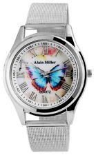 Damenuhr Alain Miller Damen Armbanduhr Metall Meshband Uhr Quarz RP3732200001