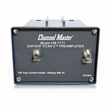 Channel Master Titan 2 High-Gain UHF VHF TV Antenna Preamplifier (CM-7777)