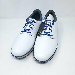 NEW Callaway LaJolla White/Blue Men's Golf Shoes 13 D Medium