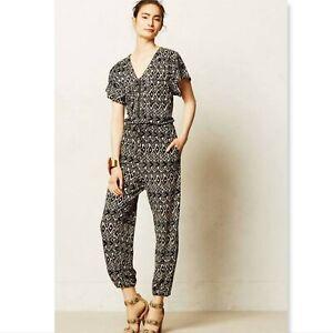 Anthropologie Corey Lynn Calter Franca Jumper jumpsuit size small ikat
