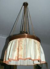 Antique copper dining room lamp