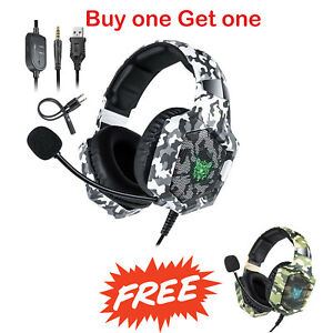 Buy one Get one free Gaming Headset With Mic for Xbox One PS4 Nintendo Switch PC