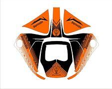 3M Speedglas 9100 V X Xx Auto Sw Schweiß Helm Umwickeln Abziehbild Orange Schuss