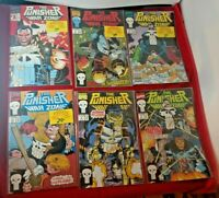 LOT OF 27 THE PUNISHER War Zone 1992 Marvel Comics 1-34 VF NM