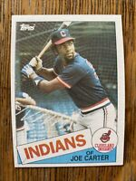 1985 CLEVELAND INDIANS Topps COMPLETE MLB Team SET 25 Cards FRANCO CARTER BUTLER