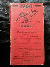Guide Michelin 1964 restaurant régionalisme gastronomie tourisme