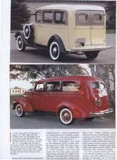 1935 - 1966 CHEVROLET SUBURBAN CARRYALL 14 pg Color Article