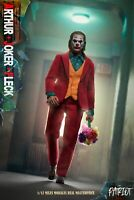 The Patriot studio 1/12 Arthur Fleck Red Wear The Joker Joaquin Phoenix Figure