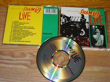 SHAM 69 - THE BEST OF & THE REST OF (LIVE) / RECEIVER ALBUM-CD 1989 (MINT-)