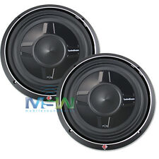 "(2) *NEW* ROCKFORD FOSGATE P3SD2-12 12"" SHALLOW PUNCH CAR SUBWOOFERS SUBS *PAIR*"