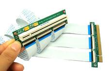 Sintech PCI-e express 16X Riser Extender Card +10/30cm high speed Flexible Cable