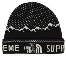 Supreme (The North cara X TNF) - Fold Gorro-Negro-a Estrenar-FW18