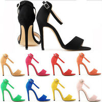 Hot Sexy Women's High Heels Office Lady Work Party Pumps Shoes sandals Plus Size