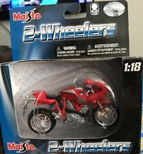Maisto 2-Wheelers Ducati Monster Red 1:18 DIE CAST LIMITED EDITION