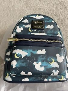 Disney Mickey Mouse Clouds Loungefly Bag