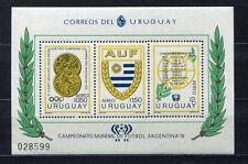 s5482) URUGUAY 1978 MNH** World Cup Football - Coppa del Mondo Calcio S/S