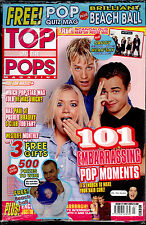 TOP OF THE POPS 2001 (EMINEM BEACHBALL) HEAR'SAY PAUL A1 WESTLIFE STEPS