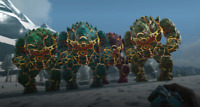 ark survival evolved XBOX PVE X-Golem Pack of 4 Clones