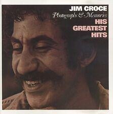 JIM CROCE Photographs & Memories: His Greatest Hits (1995 U.S. 14 Track CD)