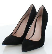 X26  $298 Women's Size 6 M Kate Spade Licorice Suede Pump in Black