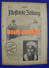 BERLINER ILLUSTRIRTE ZEITUNG 1925 Nr. 26: Amundsen-Flug / Rifkabylen-Krieg