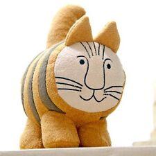 Lisa Larson Cute Stuffed Animal Plush Misses Cat Neko Kid Children Toy