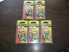 New 5 Packs The Simpsons 1 Krusty & 1 Maggie J-Strap in each pack,Phone Charm