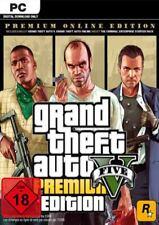Grand Theft Auto V (GTA 5) - Premium Online Edition - PC Rockstar Code - Global