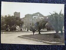 1940's RPPC The First Baptist Church in Weslaco, Tx Texas PC