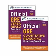 Educational Testing Service...-Official Gre Quantitative Re (UK IMPORT) BOOK NEW