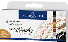 Faber Castell Tuschestift PITT artist pen C Kalligraphie 6er Etui *!bestprice!*