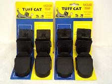 8 X Resistente mouse traps Auto la configuración del ratón Splatter-roedores Cuidado