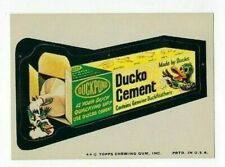 1974 Topps Wacky Packages 9th Series 9 DUCKO CEMENT nm-