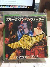 "GILLAN smoke on the water Japan 7"" single  Ian Gillan"