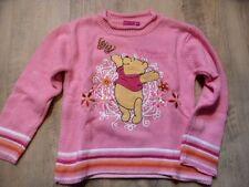 DISNEY schöner Pullover Winnie Pooh rosa Gr. 110  NEUw. ST817