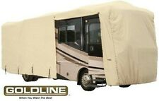 Goldline Class A RV Trailer Cover Fits 44 to 46 foot Tan
