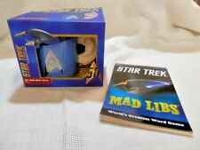 STAR TREK Original Series 3D SPOCK EAR MUG- GIFT BOX w/Mad Lib Book-Collectible!