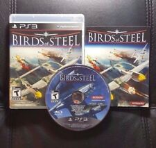 Birds of Steel (Sony PlayStation 3, 2012) PS3 Game - Very Good condition