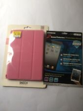 Skech Flipper Case for iPad mini - Pink W/ 2 Xtreme Screen Protectors Gift