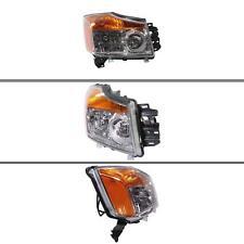 New NI2503168C CAPA Passenger Side Headlight for Nissan Titan 2008-2015