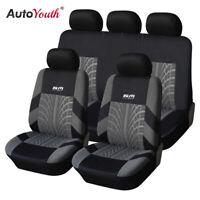 AUTOYOUTH Funda de asiento de coche Accesorios de coche interior Negro