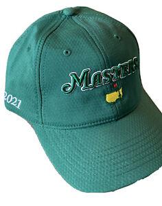 2021 masters golf hat green performance tech Augusta National PGA new