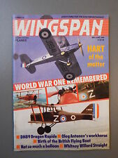 R&L Mag: Wingspan May-Jun 1988 Bristol Buckingham Buckmaster/Avro 504K/Red Baron