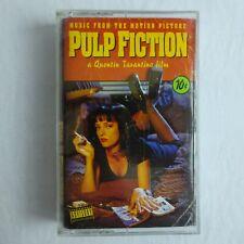 Pulp Fiction Soundtrack Cassette Various Artists