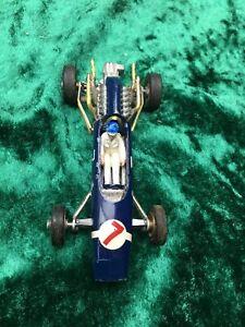 Vintage diecast Corgi 156 maserati f1 racing car