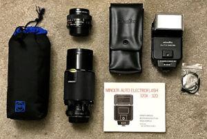 Minolta Lenses, Flash, etc.