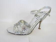Evening Slim Heel Ankle Straps for Women