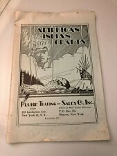 1956 American Indian Crafts Plume Trading Catalog - Boy Scout Costumes